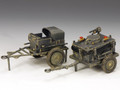 LW034  Airfield Refueling Carts by King and Country