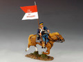 TRW002  Mounted Dragoon with Guidon by King and Country (RETIRED)