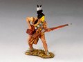 TRW008  Warrior with Musket by King and Country (RETIRED)