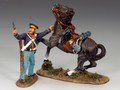TRW010  Dismounted Dragoon with Pistol by King and Country (RETIRED)