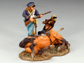 TRW011  Dismounted Dragoon with Carbine by King and Country (RETIRED)