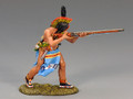 TRW016  Warrior Firing Musket by King and Country (RETIRED)
