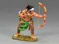 TRW019  Warrior Firing Bow and Arrow by King and Country (RETIRED)