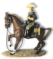 TW22  Trooper with Rifle on Brown Horse by King & Country (Retired)
