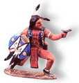 TW34  Indian with Pistol by King & Country (Retired)