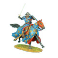 CRU052 Mounted Crusader French Knight Charging by First Legion