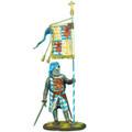 CRU068 King Henry II's Standard Bearer in Lusignan Heraldry by First Legion