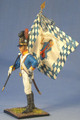 NAP0002 Bavarian Standard Bearer, 4th Sachsen-Hildburghausen Line by First Legion (RETIRED)