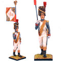 NAP0021 French Old Guard Grenadier Standard Bearer by First Legion (RETIRED)
