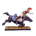 NAP0076 French 2nd Carabiniers Trooper Thrown from Horse by First Legion