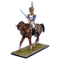 NAP0098 French 61st Line Infantry Mounted Colonel by First Legion