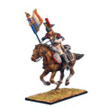 NAP0243 French 5th Cuirassiers Standard Bearer Charging by First Legion