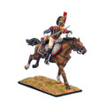 NAP0248 French 5th Cuirassiers Trooper Charging by First Legion