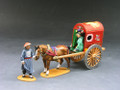 IC029  Chinese Horse & Carriage by King & Country (Retired)