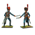 NAP0402 French Guard Horse Artillery Gunner with Igniter by First Legion