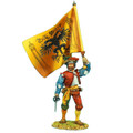 REN003 German Landsknecht Standard Bearer by First Legion