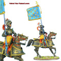 REN032 French King's Mounted Standard Bearer by First Legion