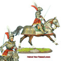 REN036 French Mounted Knight with Sword #2 by First Legion