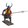 SAM002 Noble Samurai Daimyo in Horned Helmet by First Legion (RETIRED)