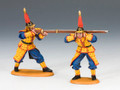 IC041  Imperial Match Lock Gun Team A by King and Country