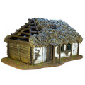 TER001 Russian Village House with Thatched Roof by First Legion (RETIRED)