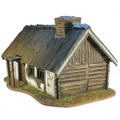 TER002 Russian Village House with Wooden Roof by First Legion (RETIRED)