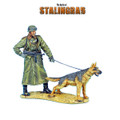 GERSTAL042 German Felgendarme with Guard Dog by First Legion by First Legion