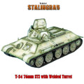 RUSSTAL021 Russian T-34 76mm STZ with Welded Turret - Winter by First Legion