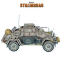 VEH009 SdKfz 222 Light Armored Reconnaissance Vehicle - 16th Panzer Division by First Legion