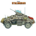 VEH010 SdKfz 222 Light Armored Reconnaissance Vehicle - 16th Panzer Division by First Legion