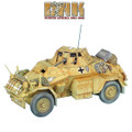 DAK022 SdKfz 222 Light Armored Reconnaissance Vehicle - 15th Panzer Division by First Legion