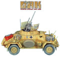 DAK023 SdKfz 222 Light Armored Reconnaissance Vehicle - 90th Light Pz. Division by First Legion