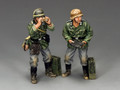 WS292 Flak Panzer Gun Crew by King & Country (RETIRED)