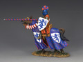 MK123 The Blue Tournament Knight by King and Country (RETIRED)