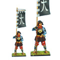 SAM034 Samurai Standard Bearer - Takeda Katsuyori Banner by First Legion
