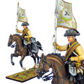 SYW024 Prussian 3rd Cuirassier Regiment Standard Bearer by First Legion