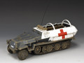"""WH005     """"Sd.Kfz251 Armoured Ambulance"""" by King and Country"""