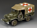 BBA080  DODGE WS51 Weapons Carrier (Winter Ambulance) by King and Country