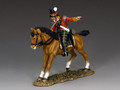 NA292  Mounted Highland Officer by King and Country