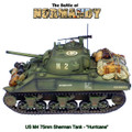 "NOR048 US M4 75mm Sherman Tank ""Hurricane"" - 2nd Armored Division by First Legion (RETIRED)"
