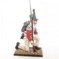 NAP010 British 43rd Foot Light Infantry Private Kneeling by Cold Steel Min