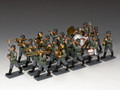 """WH032. """"The 20 Piece Classic Wehrmacht Band by King and Country"""