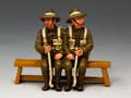 GA010-SA  Sitting Anzac Set#1 (South Australia) by King and Country