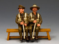 GA011-Q  Sitting Anzac Set#2 (Queensland) by King and Country