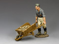 WH027.   Engineer w/Wheel Barrow by King and Country