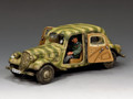 WH044. Citroen Staff Car by King and Country (RETIRED)