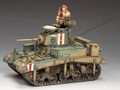 "EA106 M3 Stuart ""Honey"" Desert Tank by King and Country"