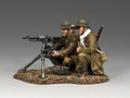 FOB117 Hotchkiss Machine Gun Crew Set by King and Country