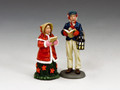 WoD035    Carol Singers Set #2 by King and Country