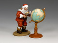 XM015  Santa & His Globe by King and Country (RETIRED)